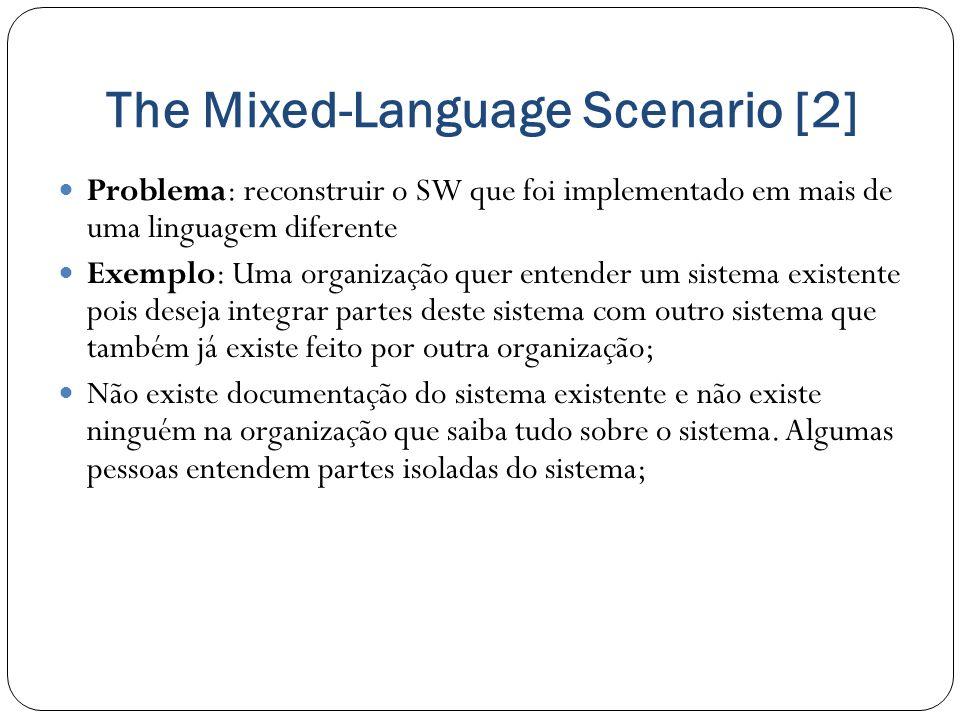 The Mixed-Language Scenario [2]